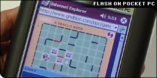 Flash on PocketPC